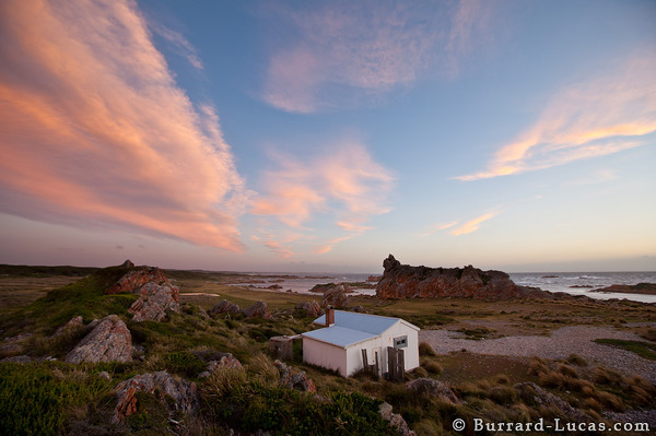 This fisherman's shack was our base during our time in Tasmania.