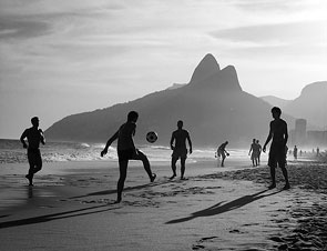 Beach Soccer by Tim Snell