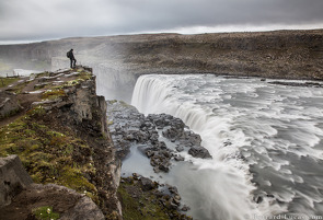 Self Portrait at Dettifoss, July 2015