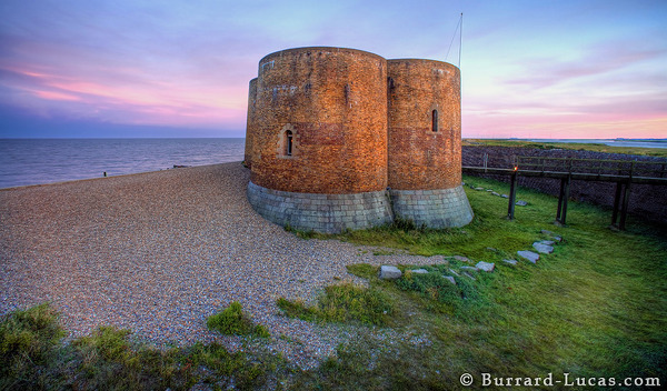 Martello Tower Sunset