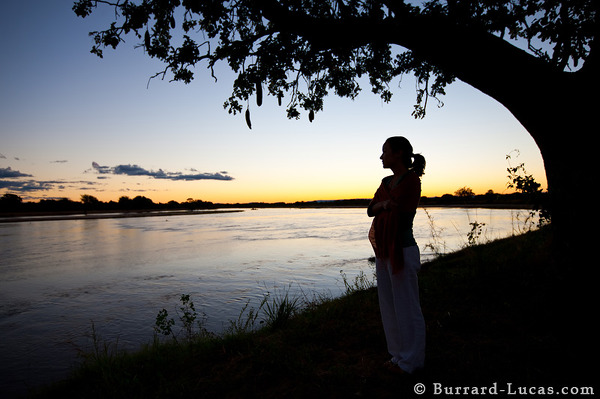 Girl by the Luangwa River