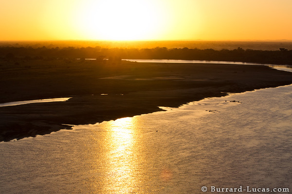 Sunrise from a Microlight